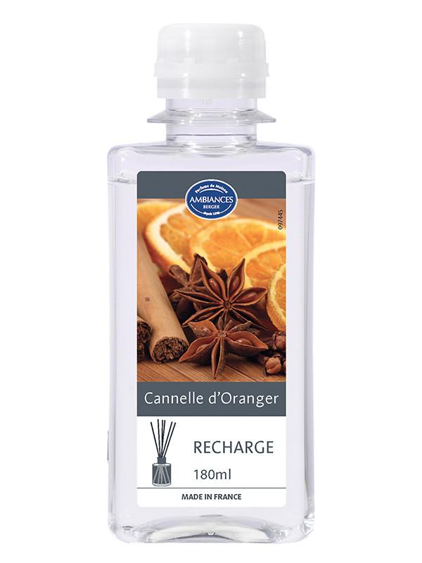 recharge brin cannelle d oranger 180 ml recharges brins de parfum le berger shop officiel