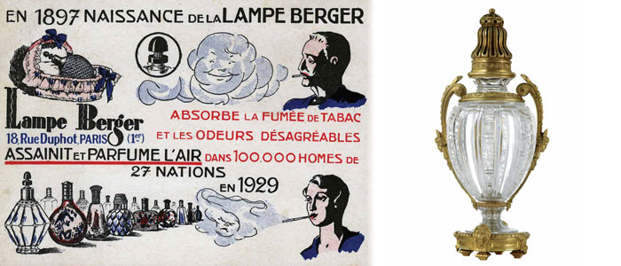 Historique lampe berger shop officiel suisse - Historique des lampes ...