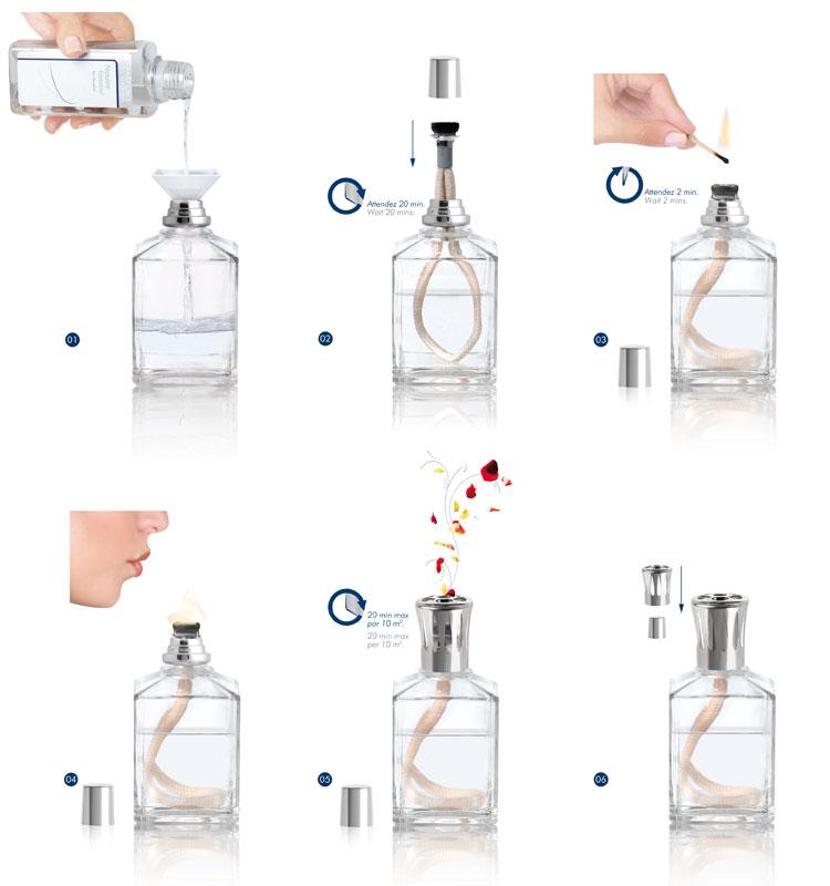 Fonctionnement et mode d 39 emploi lampe berger shop officiel suisse Mode d emploi lampe berger