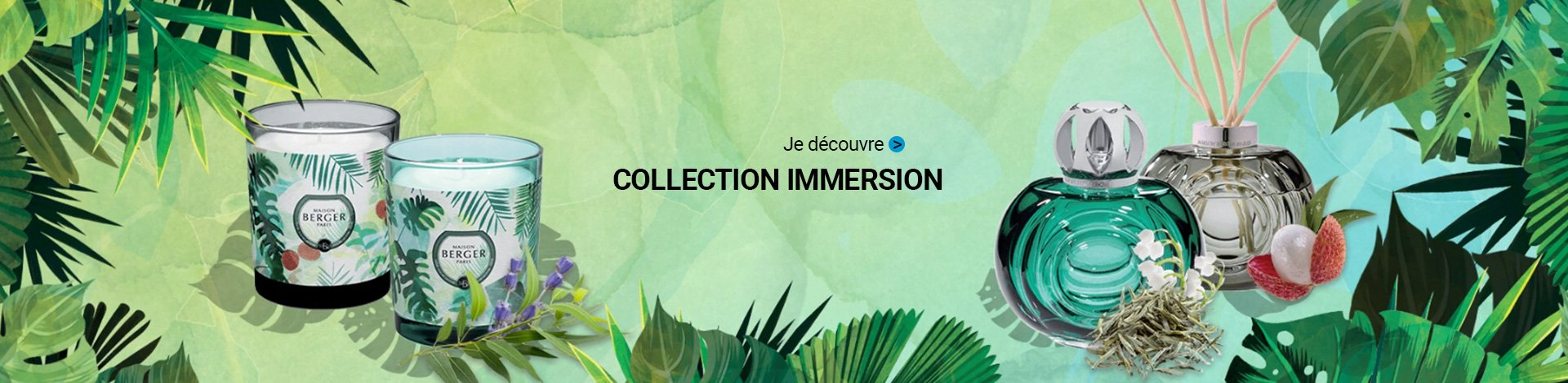 Maison Berger : Collection Immersion