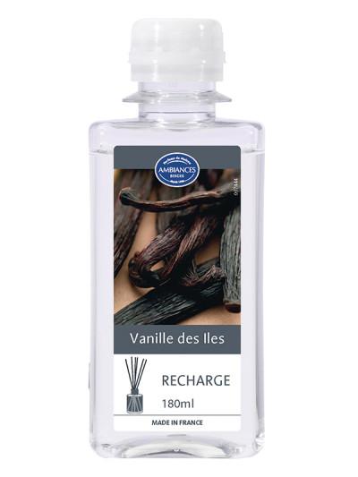 recharge brin vanille des iles 180 ml recharges brins de parfum le berger shop officiel