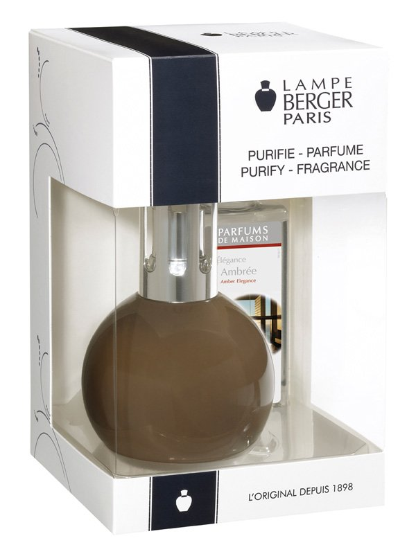 Lampe berger 4428 coffret bingo taupe lampes catalyse lampe berger shop - Utilisation lampe berger ...