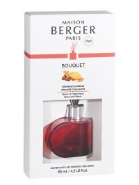 Bouquet parfumé Alliance Rouge - Orange de Cannelle | MAISON BERGER