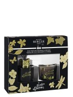 Duo Minis Bouquet & Bougie Lolita Lempicka - Black Edition | MAISON BERGER