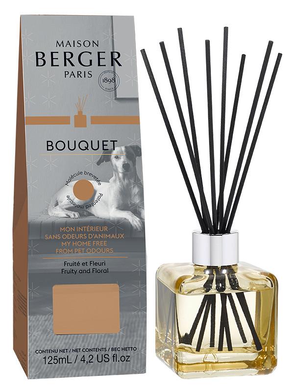 Bouquet parfum cube sp cial odeurs d 39 animaux 125ml fruit for Anti odeur maison